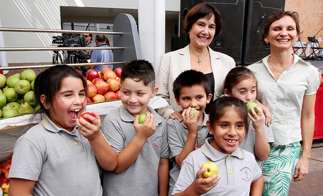Ministry of Health Chile - junk food out of schools campaign 2