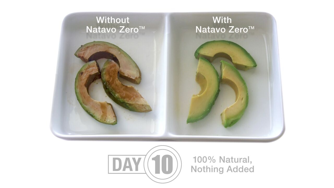 Naturo - avocado wedges
