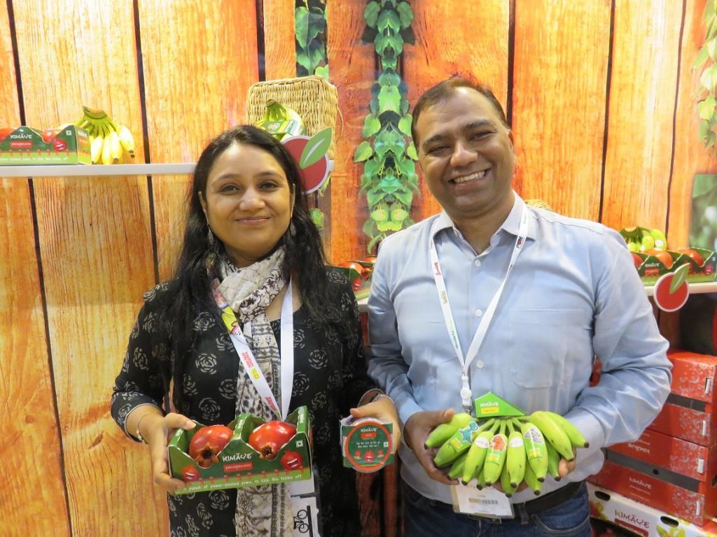 INI Farms executives Purnima and Pankaj Khandelwal