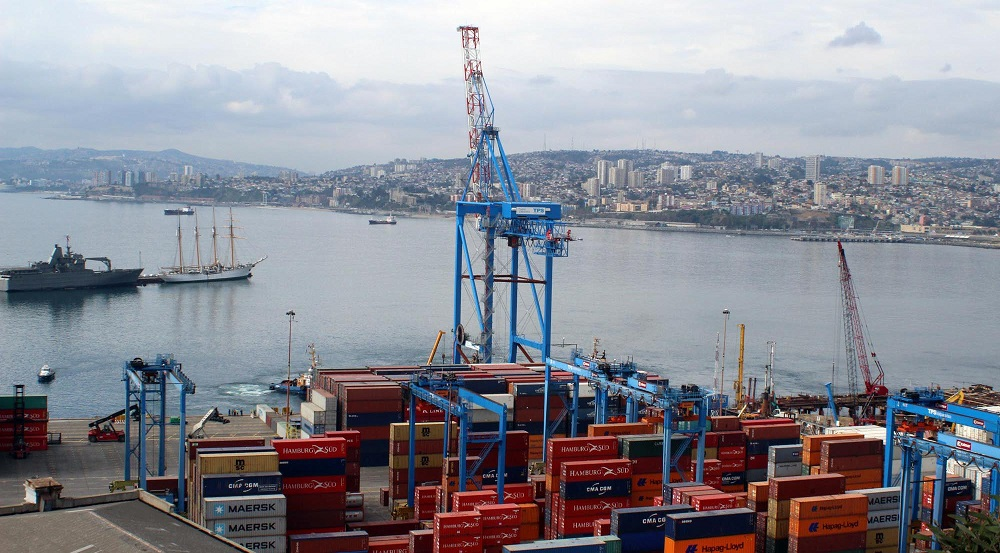 Chilean port workers in nationwide strike amid social unrest