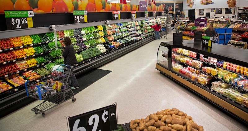 Walmart revamps produce section to