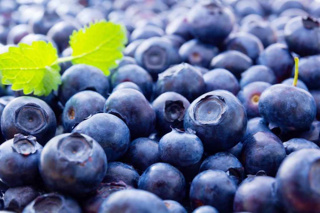 What are the prospects for U.S. blueberries in China?