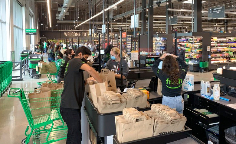 Amazon Fresh opens grocery store in California