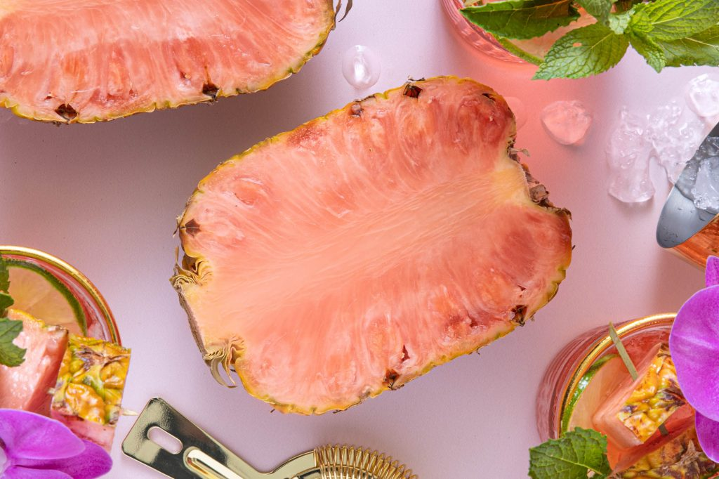 Del Monte launches pink-fleshed pineapples