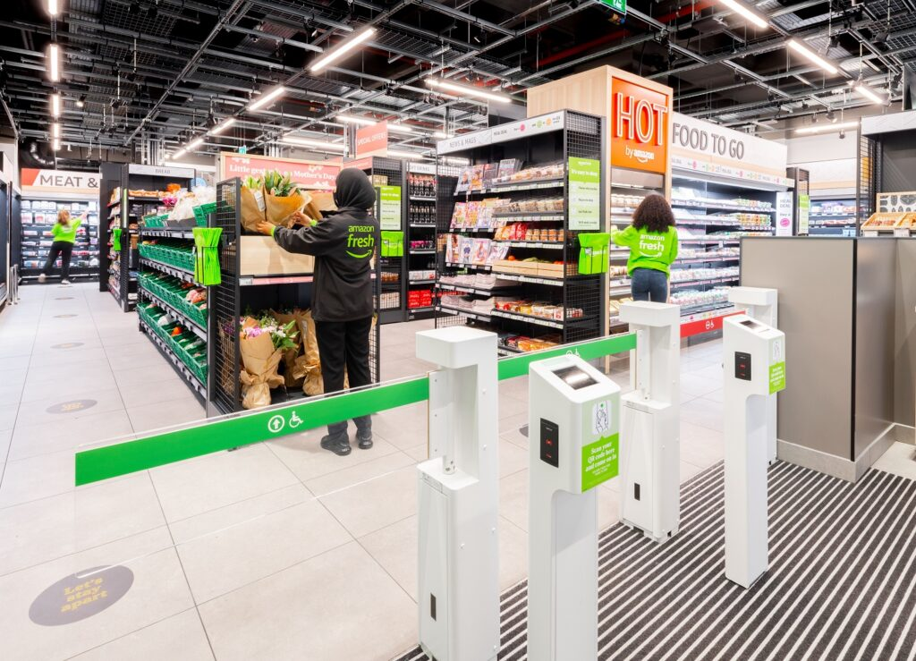 Amazon Fresh opens first UK grocery store, offering private food brand