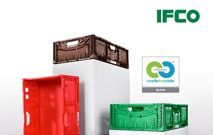 IFCO European Lift Lock containers become Cradle to Cradle Certified Silver