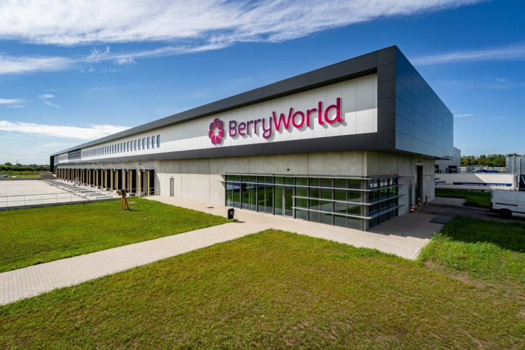 BerryWorld's new Dutch distribution center receives outstanding eco certificate
