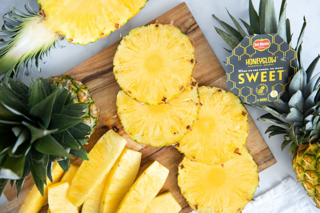 Del Monte Fresh Produce relaunches Honeyglow pineapple