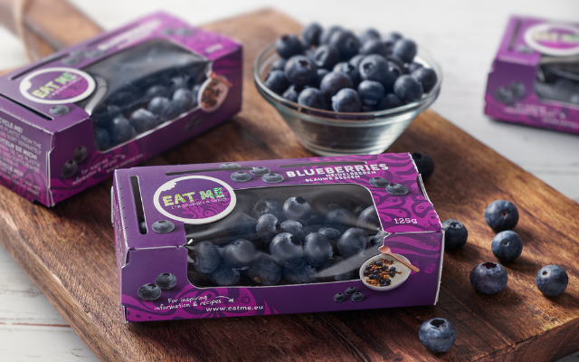Berries Pride introduces new sustainable blueberry packaging