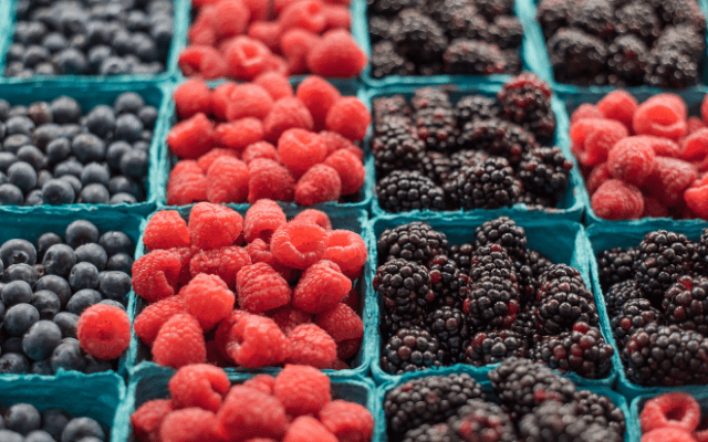 U.S. retail produce sales report berries with robust increases in March