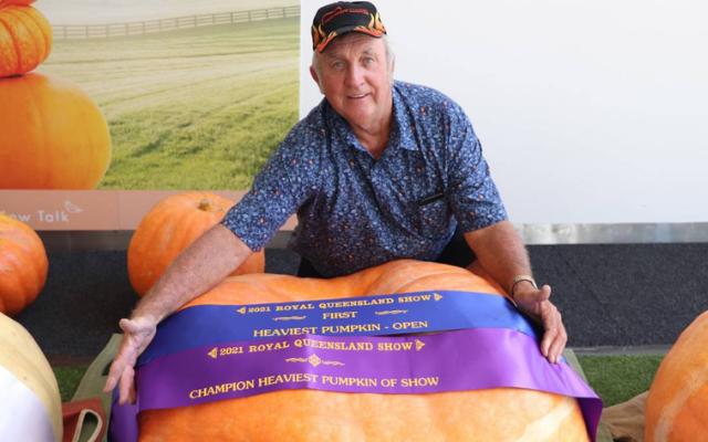 Enormous pumpkin wins awards in Australia
