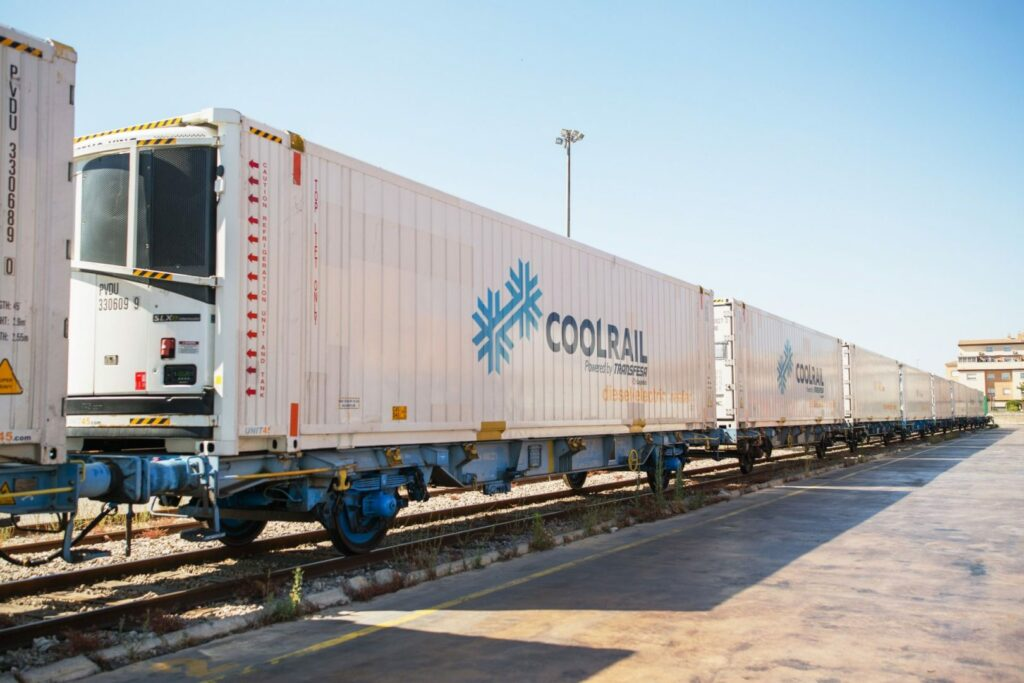 First Spanish produce sent to Denmark by new rail route
