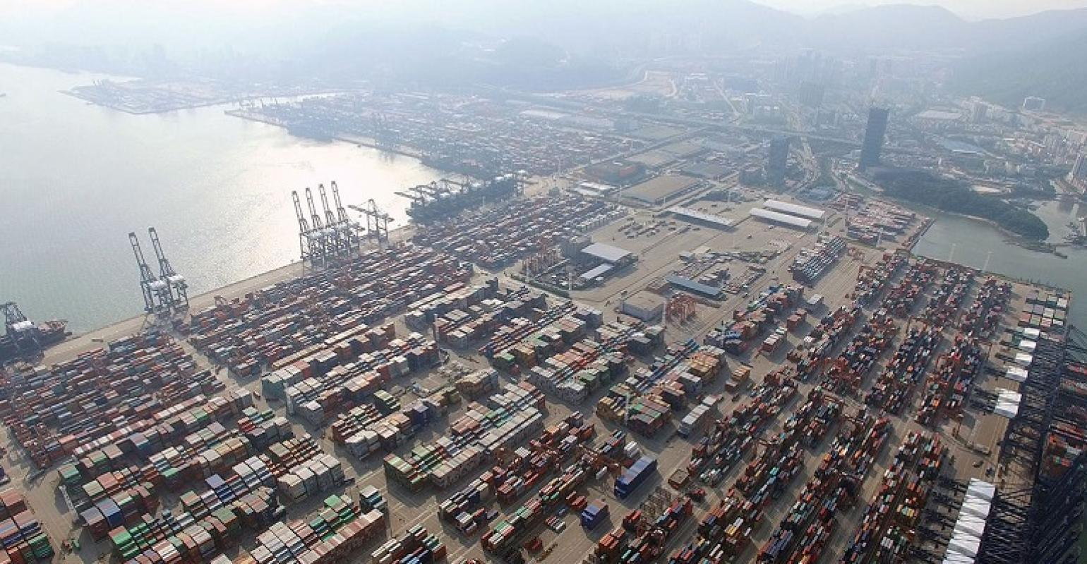 Covid outbreak at Chinese port exacerbates global supply chain delays