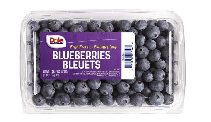 Dole recalls blueberries for potential cyclosporacontamination