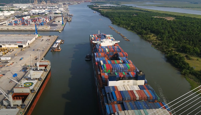 Video: Port of Savannah receives largest vessel to call at U.S. East Coast