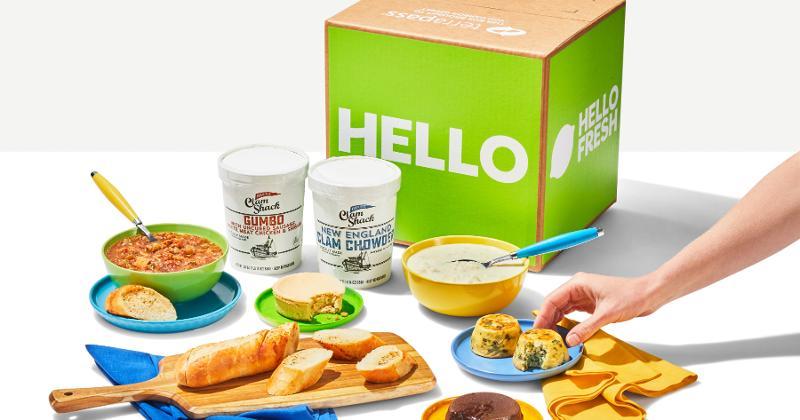 HelloFresh launches online grocery store in U.S.
