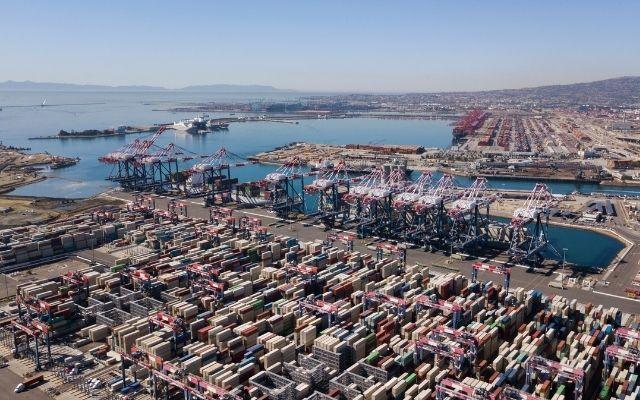 U.S. ports face peak-season
