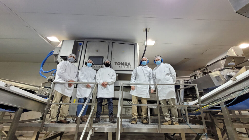 Vitafoods installs TOMRA 5B Sorter in its berry processing plant in Chillán