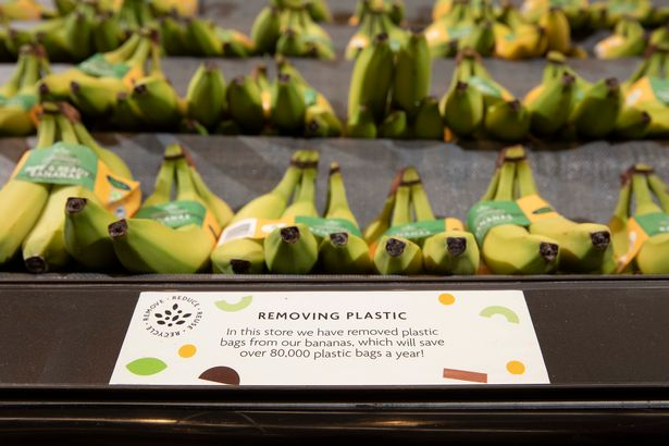 Morrisons first U.K. supermarket to ban plastic packaging from bananas