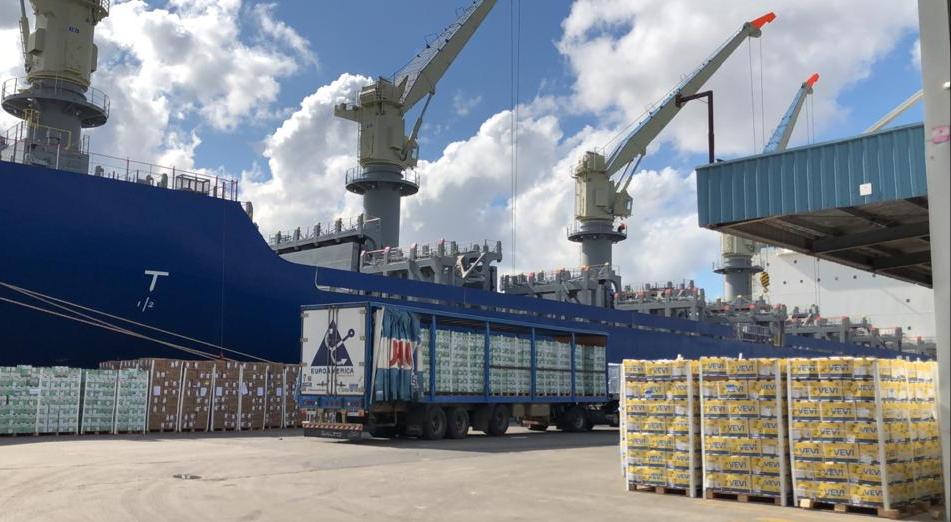 Argentina sends record size citrus shipment