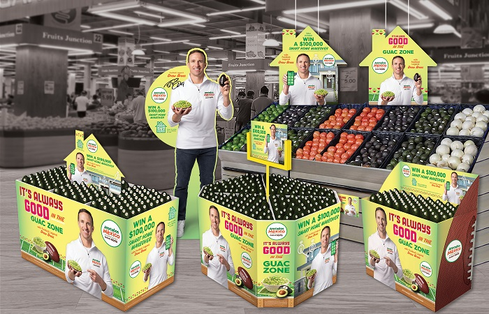 Avocados From Mexico partners with football legend Drew Brees